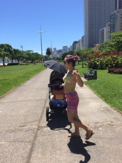 Strolling around Santos